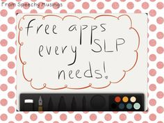 Free apps and recommendations on how to use them.
