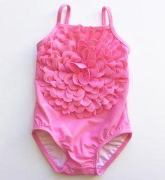 Kate Mack Blooming Flower Infant Swimsuit
