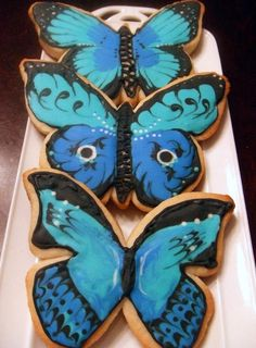 Butterfly Sugar #Decorated Cookies| http://decorated-cookies.lemoncoin.org