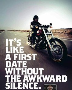 First date every time I ride