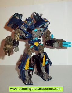 transformers movie IRONHIDE OFFROAD 2007 hasbro toys voyager complete action figure