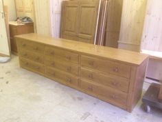 We can make any size chest of drawers!