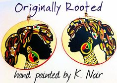 Originally Rooted Earrings by BOABW on Etsy