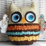 Owliver Plushie Pattern by Patti Milazzo