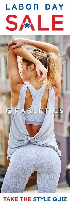 b2a10d6d730f8 Limited Time Only When You Become A VIP Member. Discover Fabletics by Kate  Hudson Workout Outfits for 2016 that are Curated ...