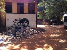 Art and Trash. #goa #digitalnomad from www.nomad40.com