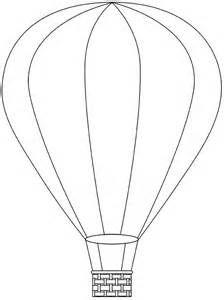hot air balloon printable template | Free Digital Hot Air Balloon ...