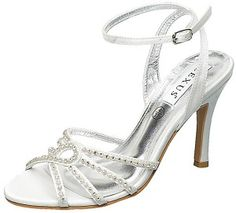 Diamonte Strappy Wedding Shoes - Lexus Shaniya by Perdita's Wedding Shoes  #MyHOFWeddinglook