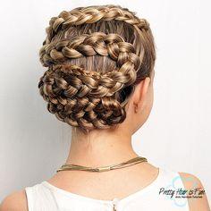 MEDUSA SNAKE BRAID – PRETTY HAIR IS FUN Braid Tutorials, Hairstyle Tutorials, Pretty Hairstyles, Girl Hairstyles, Braided Hairstyles, Medusa Snake, Medusa Hair, Five Strand Braids, Hairstyle Ideas