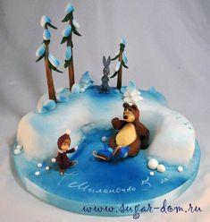 Torta Masha Orso 74