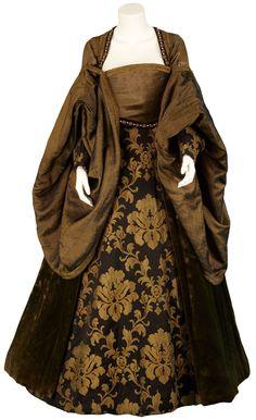 Elizabeth Boleyn's Brown Gown (The Other Boleyn Girl, 2008).