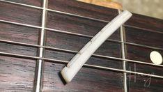 How to Make a Bone Nut Part 2 — Haze Guitars Guitar Diy, Guitar Chords, Guitar Strings, Guitar Pedals, Guitar Neck, Guitar For Beginners, Guitar Lessons, Bones, Electric