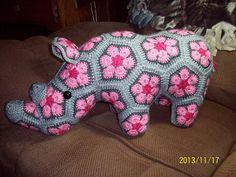 Ravelry: veeandco's Baby Rose Rhino