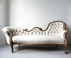 Fairytale House / white vintage sofa