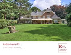 Christie's International Real Estate NL / R365.nl  Newsletter Augustus 2014
