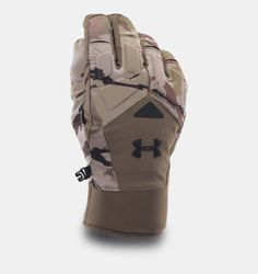 Men's UA ColdGear® Infrared Scent Control 2.0 Primer Gloves, RIDGE REAPER®…