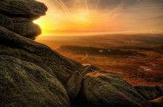 Higger Tor, Peak District: