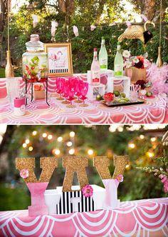 flamingo fiesta girls night in part 1 dinner drinks