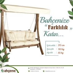 Cafe Bar, Porch Swing, Outdoor Furniture, Outdoor Decor, Home Decor, Homemade Home Decor, Coffee Cozy, Interior Design, Home Interiors