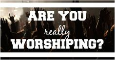 Youth Group Lesson on Worship DOWNLOAD THIS LESSON IN PDF FORM FOR FREE Topic:Are You Really Worshiping? Main text:Romans 12:1 Description:We talk a lot about worshipping God, but too often we a…