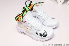 new styles cfab4 30bb8 Buy OFF-WHITE x Nike Air Huarache Ultra White Black