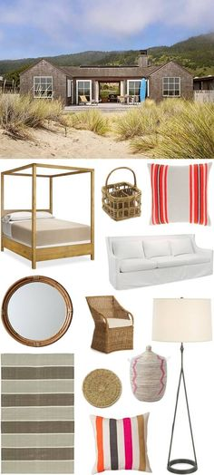 Beautifully Seaside // Formerly CHIC COASTAL LIVING: Beach House: Get The Look