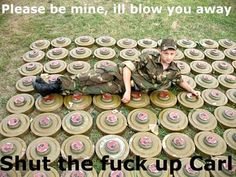 Damn it, Carl....