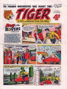 Picture Story, Comic Art, Advertising, British, Football, Adventure, Comics, Pictures, Life