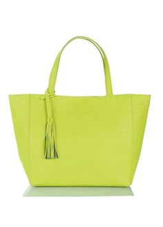 Cabas fluo  YELLOW by LOXWOOD