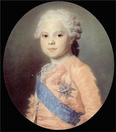 Portrait of Louis of France, Maurice Quentin de La Tour
