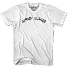 Canary Islands City Vintage T-shirt
