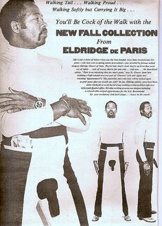 O M G!!!  Eldridge Cleaver Pants by Stacy Herbert, via Flickr