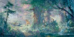 """""""Springtime in the Meadow"""" by James Coleman #disney"""