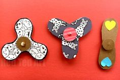 DIY Fidget Spinners - Red Ted Art's Blog