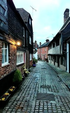 All Saints Lane - Canterbury, Kent, England