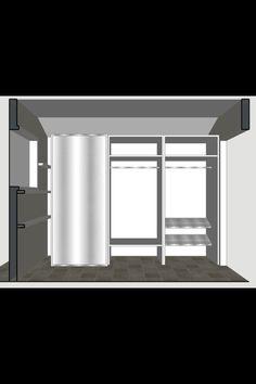 Mud room elevation 2