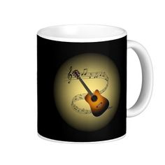 Acoustic Guitar~ Musical Scale ~ Musical Globe ~