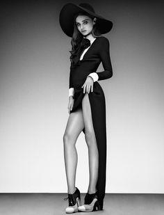 Miranda Kerr by Sebastian Mader  for Jalouse magazine's February 2013