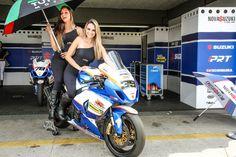 Acesse http://carroonline.terra.com.br/motociclismoonline/galeria/grid-girls-do-moto-1000-gp para conferir uma galeria de imagens das belas Grid Girls que estavam presentes na 6ª etapa do Moto 1000 GP! (foto: Equipe Sanderson) #motociclismo #GridGirls #Moto1000GP