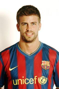 Gerard Pique. Love those Spanish soccer players