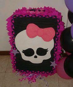 MuyAmeno.com: Piñatas Monster High para Fiestas Infantiles