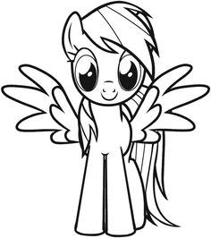 kids under 7 my little pony coloring pages pony party abby 6