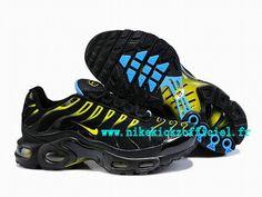 Nike Air Max 90 pour Homme Noir/Jaune/Bleu