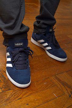 huge discount cb11e 8f69b Adidas Busenitz Pro Navy Zapatillas Adidas, Calzado Nike, Calzado Hombre,  Zapatos Deportivos,