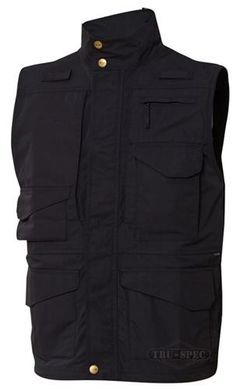 Atlanco 2830005 24-7 Series Tactical Vest, Large, Black