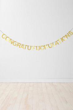 Congrats & stuff.