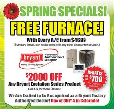 AC season specials coming up! Check out our amazing specials and energy rebates on www.fix-it24.com!