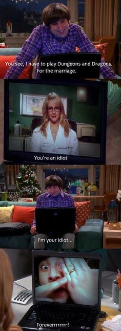 The big bang theory.  I live this often~