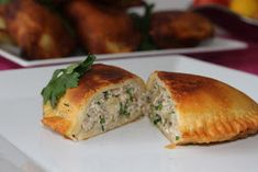 Na moim stole...: Czebureki - smażone pierogi tatarskie Bread, Food, Brot, Essen, Baking, Meals, Breads, Buns, Yemek