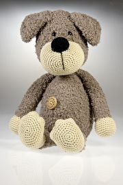Haakpatroon hond Donna #haken #haakpatroon #amigurimi #gehaakt #knuffel #crochet #crocheting #crochetpattern #hond